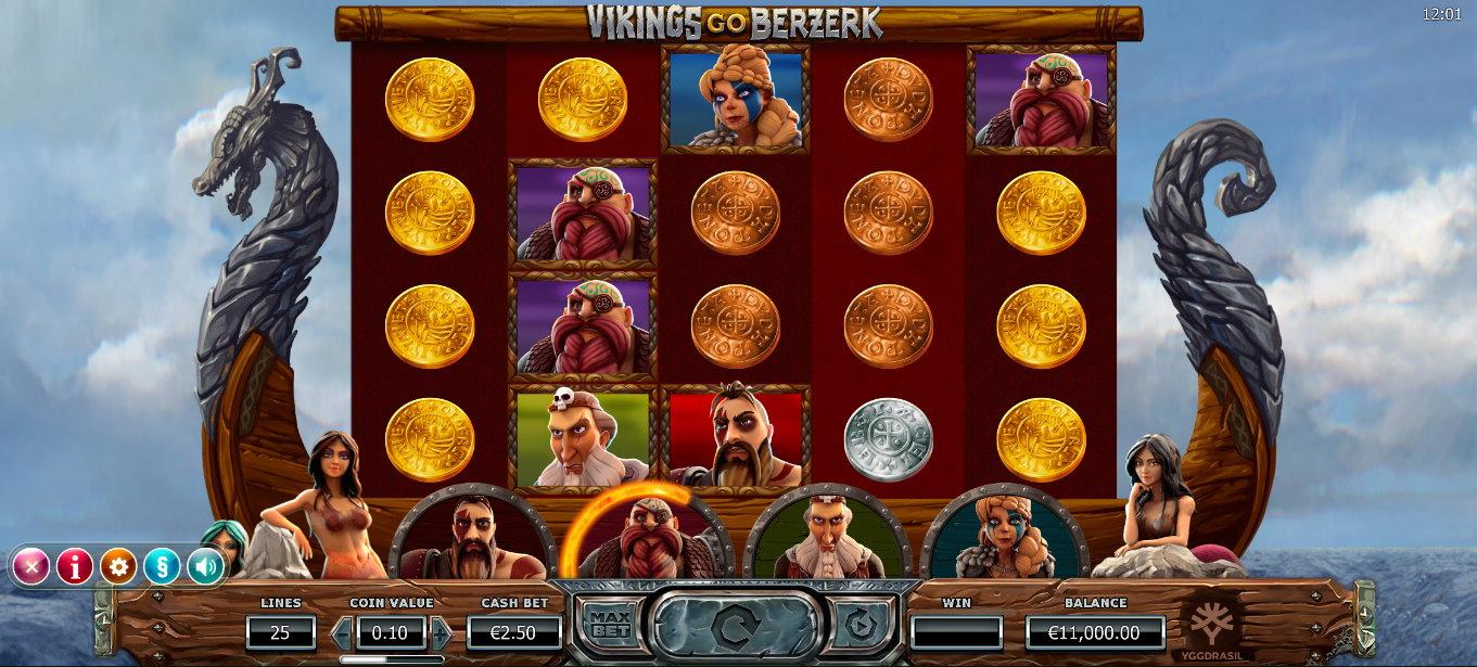 Vikings go Berzerk Slot Look & Feel